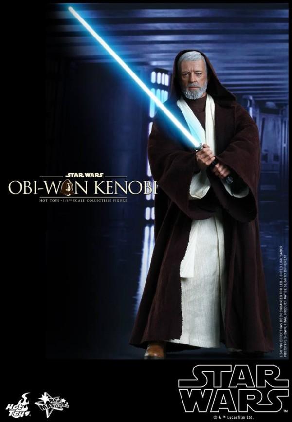 Star Wars ANH: 1/6th scale Obi-Wan Kenobi Collectible Figure