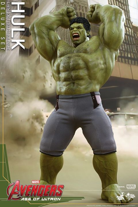 Avengers: AOU 1/6th scale Hulk Deluxe Collectible Set