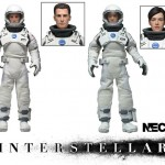 Terminator, Predator, Chain Saw et Interstellar images presse NECA