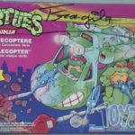Review vintage TMNT : TortueCoptère