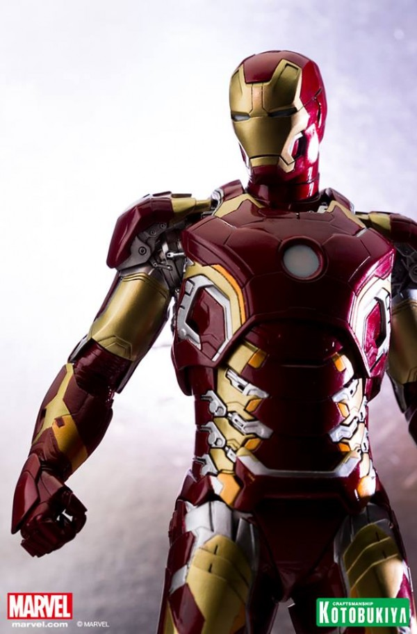 Avengers: Age of Ultron Iron Man Mark 43 ARTFX Statue