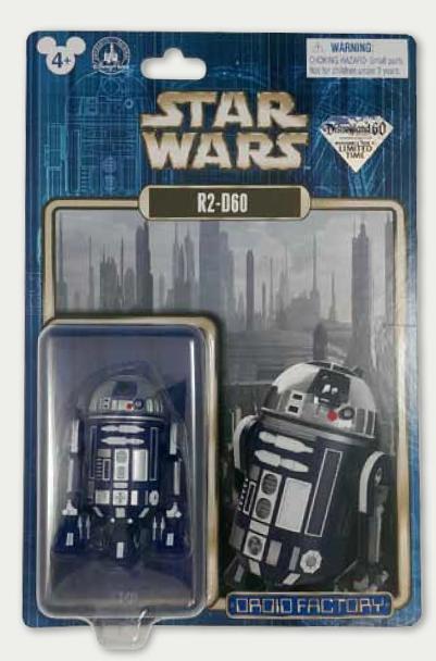 Disneyland 60th Anniversary Star Wars R2-D60
