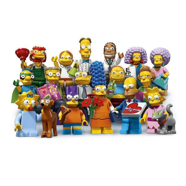 LEGO simpsons mini figurine 2