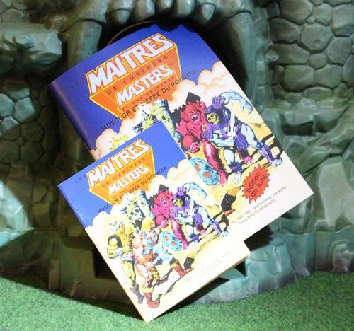 Réédition de luxe de la version française du minicomic Musclor et l'épée du pouvoir