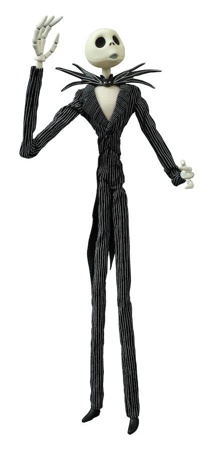 Nightmare Before Christmas Jack Skellington 16″ Coffin Doll