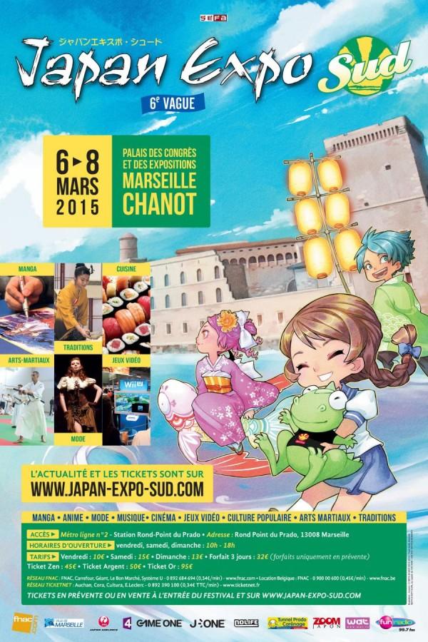 Affiche Japan Expo Sud