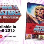 Skeletor fait la pub du Art Book des Maîtres de l'Univers