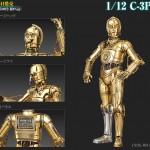 Bandai Model Kit : images presse de C-3PO