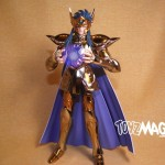 Saint Seiya : Review Camus du Verseau Myth Cloth Ex