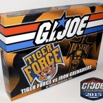 Coffret GI JoeCon 2015 Tiger Force Vs Iron Grenadiers  les images