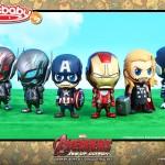 Hot Toys : set Cosbaby pour Avengers l'ère d'Ultron