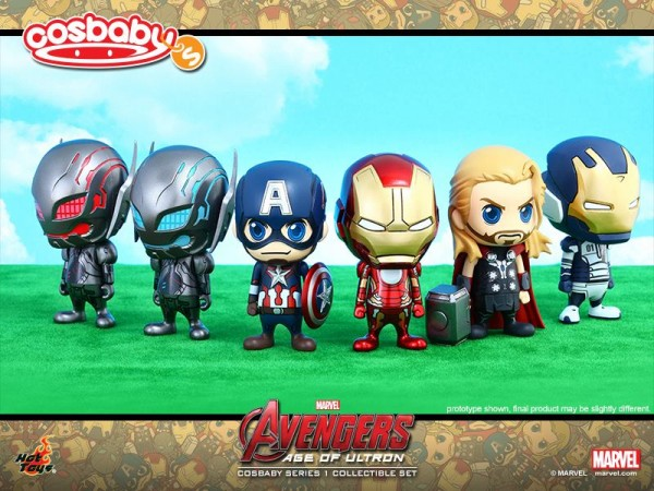 hot toys avengers cosbaby