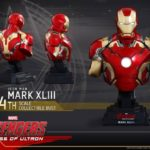 Avengers AoU : bustes Hot Toys Iron Man & War Machine