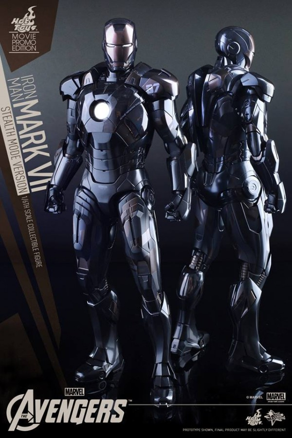 The Avengers: 1/6th scale Mark VII (Stealth Mode Version)