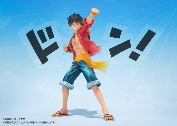 Figuarts Zero de Luffy, 5th Anniversary Edition