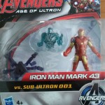 Avengers Age of Ultron : Review Iron Man (Mark 43) vs Sub-Ultron 001