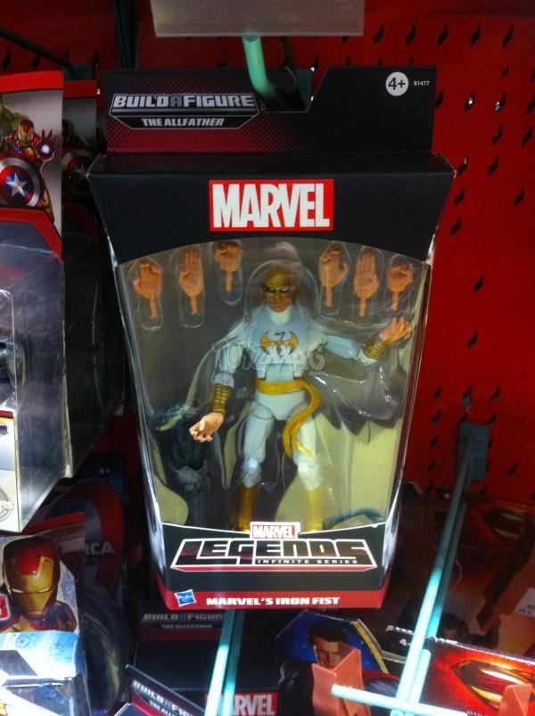 Marvel Legends bad odin --iron fist