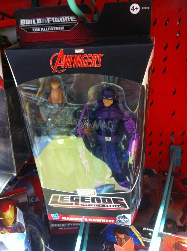 Marvel Legends bad odin - hawkeye