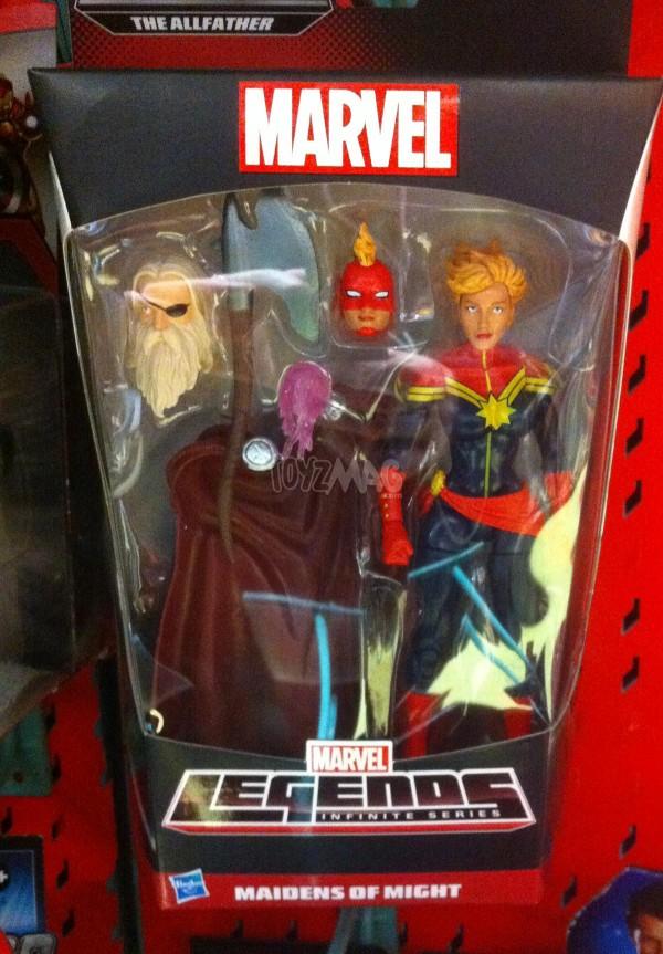 Marvel Legends bad odin - cap marvel
