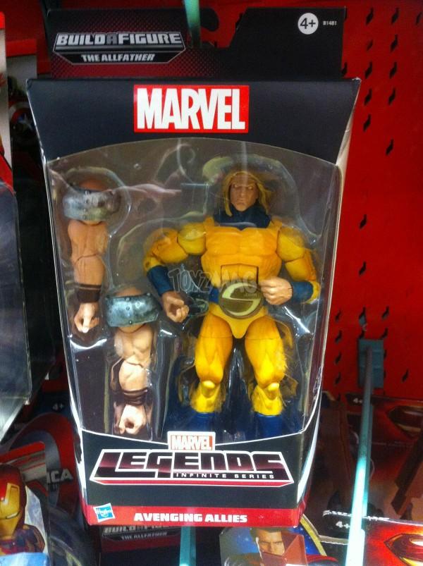 Marvel Legends bad odin - sentry