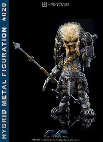 Hybrid Metal Figuration AVP Scar Predator by Herocross