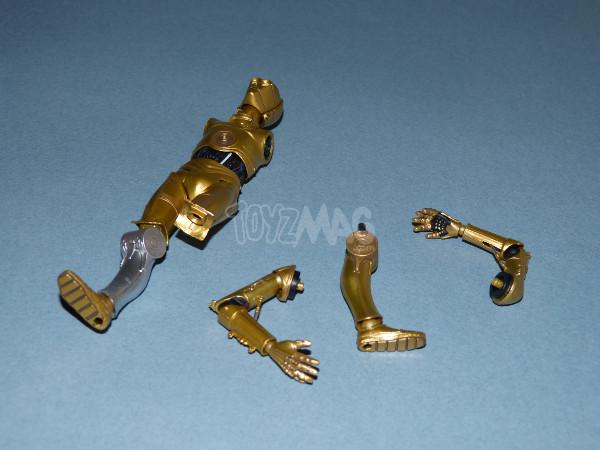 revo C-3PO revoltech kaiyodo star wars 20