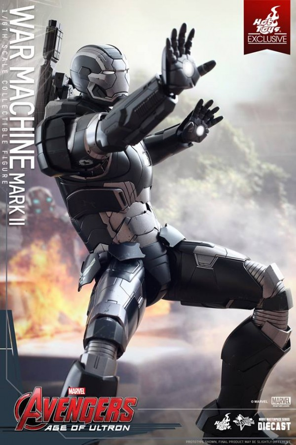 avengers war machine hot toys 1