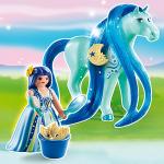 4 nouveaux pack Playmobil Princesses et Chevaux à coiffer