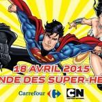 Warner vous invite à battre le record du nomde de Cosplay Super-Héros DC
