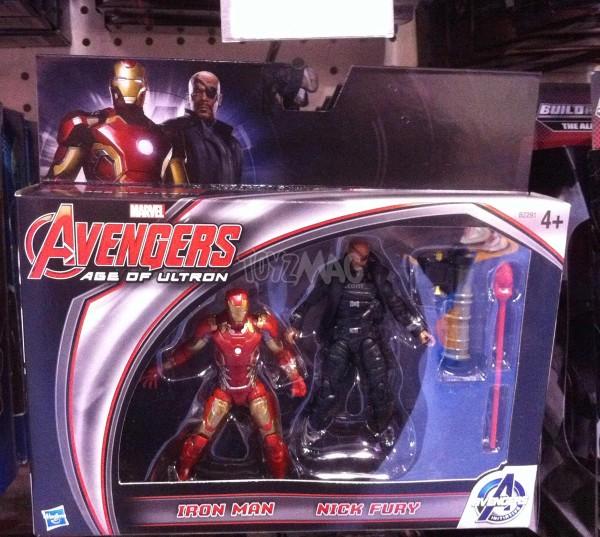 Pack   Iron Man Nik Fury 24,99€  ai dans les Toys R Us Fançais