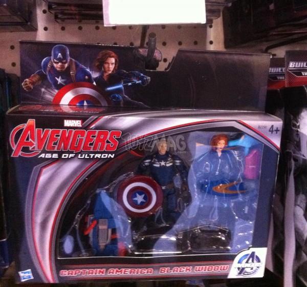 Pack Captain America / Black Widow –  24,99€