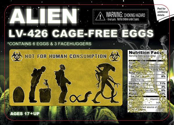 alien eggs neca