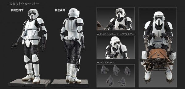 bandai scout trooper 1