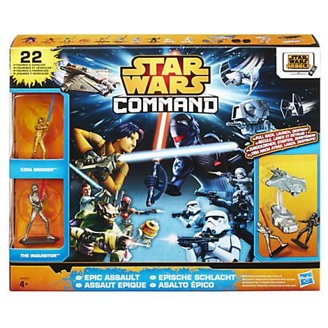 SOLDE Ensemble de figurines Assaut Héroique Star Wars Rebels Command