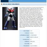 DX Great Mazinger est disponible pour les revendeurs Français