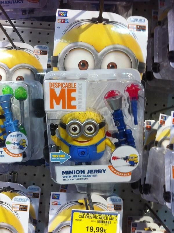 Jouet et figurine Minions Moi moche et mechant