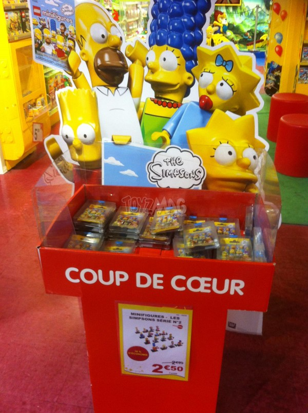 LEGO SIMPSONS MINI FIGURINES
