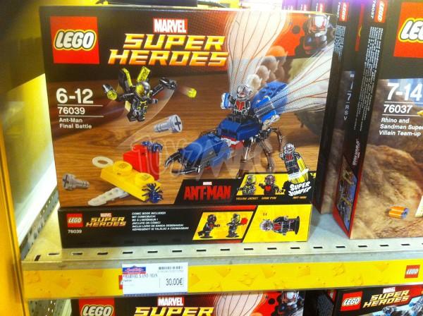 LEGO SUPER HEROES Ant-Man Final Battle set 76039