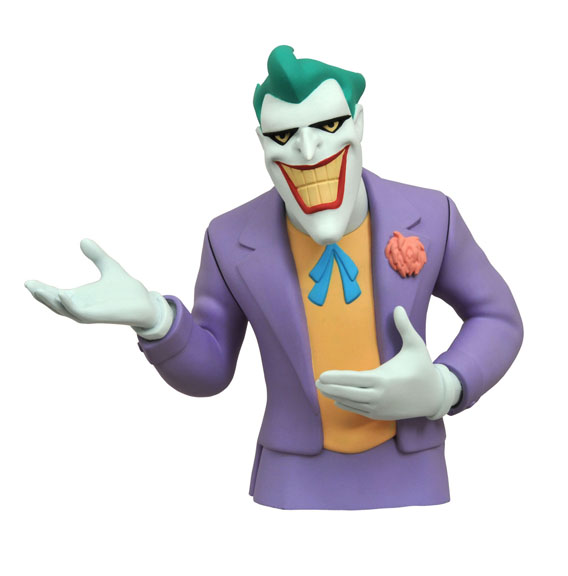 Batman The Animated Series Joker Vinyl Bust Bank