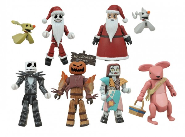 Nightmare Before Christmas Minimates Series 2 Foil Bag Asst.