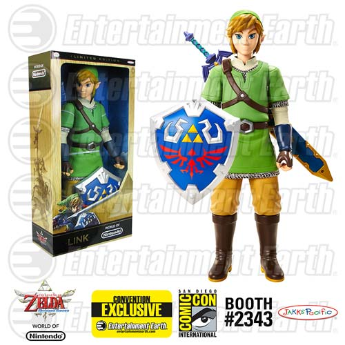 SDCC2015 The Legend of Zelda: Skyward Sword Link Variant 20-Inch Premium Action Figure - Convention Exclusive