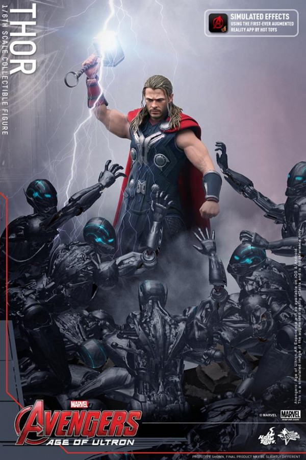 age of ultron thor hot toys 2