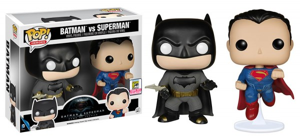 batman vs superman funko