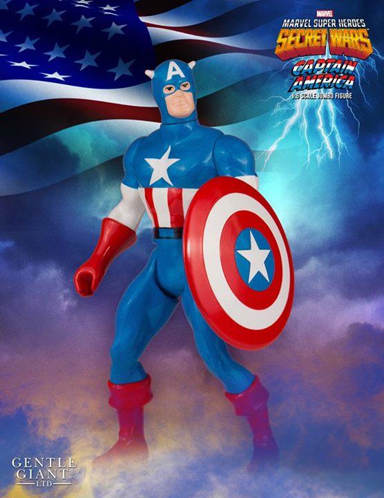 Captain America Secret Wars Jumbo