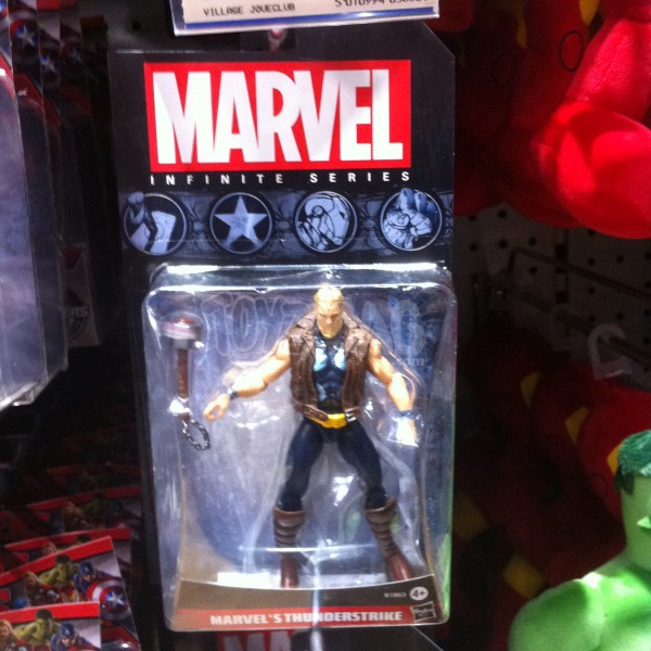 thor ultimates Mavel Infinite Series de Hasbro,