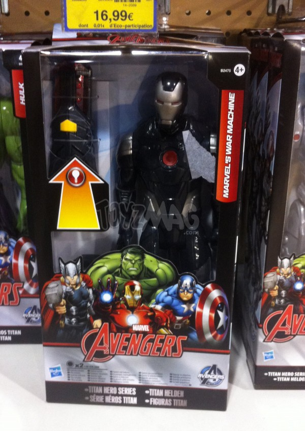 IRON MAN WAR MACHINE Avengers Titan HEroes