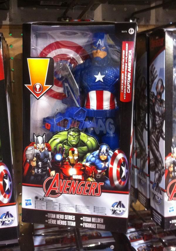 Captain America  Avengers Titan HEroes