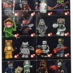 Lego minifigures série 14 la liste