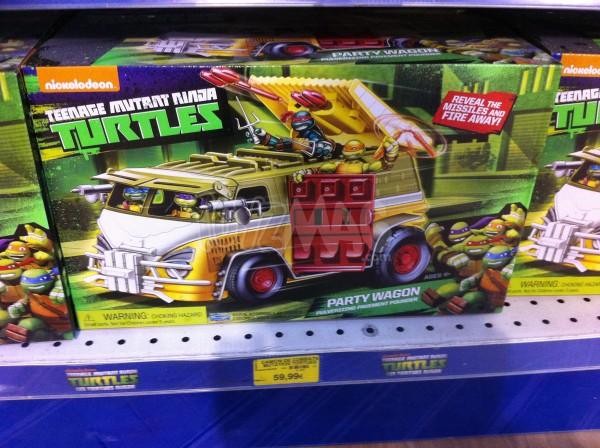 party Wagon TMNT
