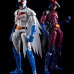 Retard des figurines Gatchaman – La bataille des Planètes